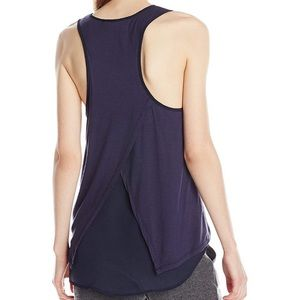 Sam Edelman | navy blue cross back tank size M